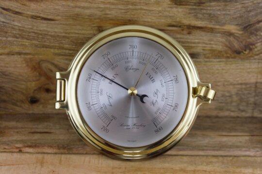 Barometer/ Messing/ Bullauge