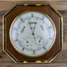 Wetterstation Holz/ Barometer, Thermometer, Hygrometer