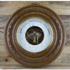 Antikes Barometer mit offenem Werk