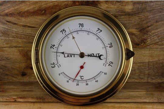 Dänisches Barometer & Thermometer