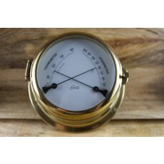 Schatz Hygrometer Thermometer Messing